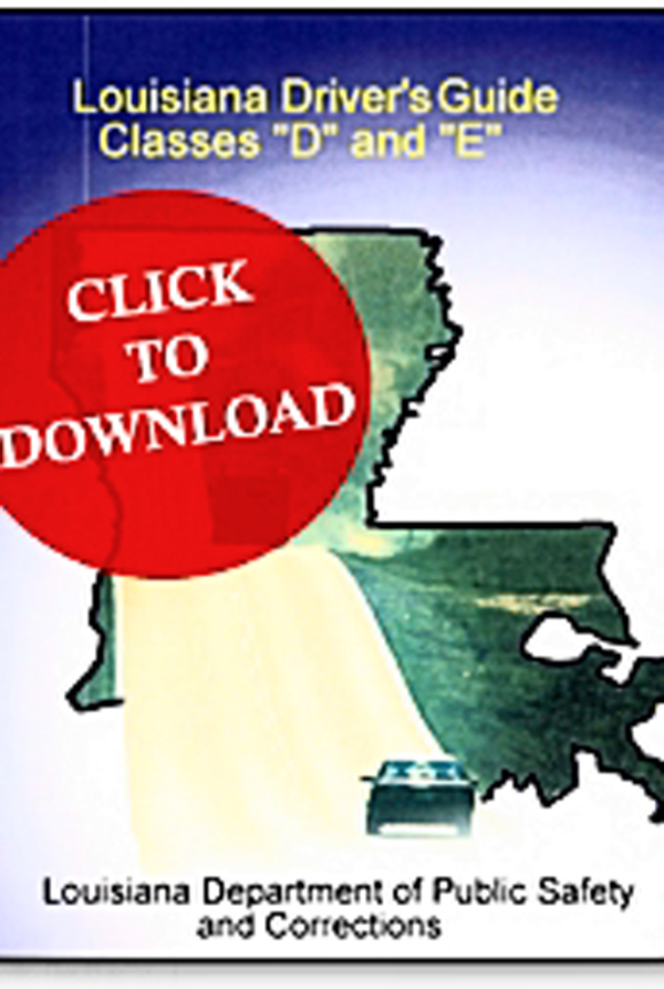 louisiana drivers manual download